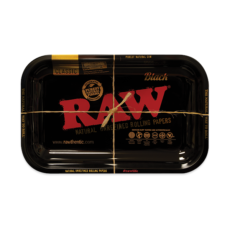 Tacka RAW BLACK do suszu i kręcenia jointów rolling tray metalowa