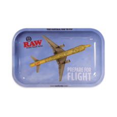 Tacka RAW FLIGHT do suszu i kręcenia jointów rolling tray metalowa