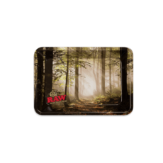 Tacka RAW FOREST MINI do suszu i kręcenia jointów rolling tray metalowa