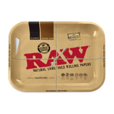 Tacka RAW ORIGINAL do suszu i kręcenia jointów rolling tray metalowa 33x27,5