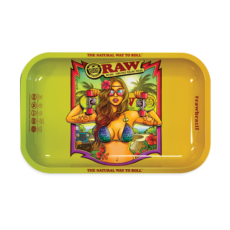 Tacka RAW Brazil 2 BRAZIL do suszu i kręcenia jointów rolling tray metalowa
