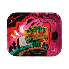 Tacka ZOMBIE do suszu i kręcenia jointów rolling tray metalowa 33x27,5